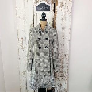 Victoria secret VIA herringbone twill dress coat